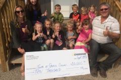 Enbridge $10,000 community donation
