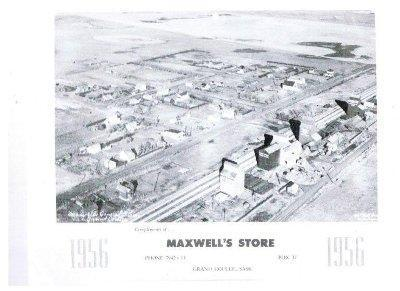 Old Aerial of Grand Coulee